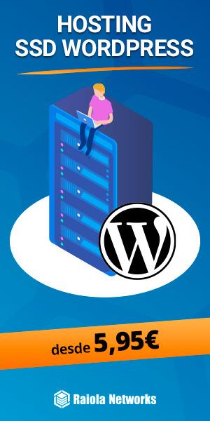 Promoción hosting WordPress